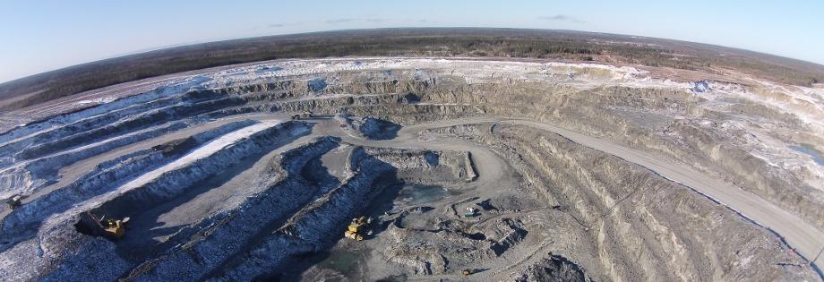Aerial Robotics for Mining